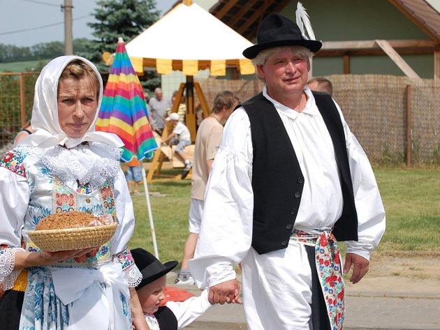 Míkovice ožily oslavou 750. výročí založení.