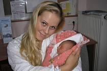 Kateřina Vrbická a dcera Karolína Vrbická, 44 cm, 2500 g, narozená 27. 9. 2010