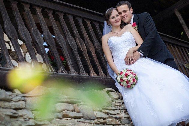 Soutěžní svatební pár číslo 224 - Lenka a Lukáš Janušovi, Velké Karlovice