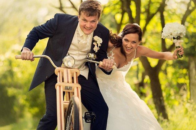 Soutěžní svatební pár číslo 135 - Soňa a Martin Bilíkovi, Zlechov