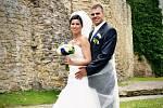 Soutěžní svatební pár číslo 172 - Tomáš a Šárka Martinkovi, Zlín.