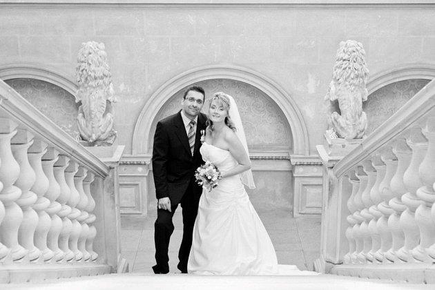 Soutěžní svatební pár číslo 201 - Petr a Pavla Šímovi, Olomouc.