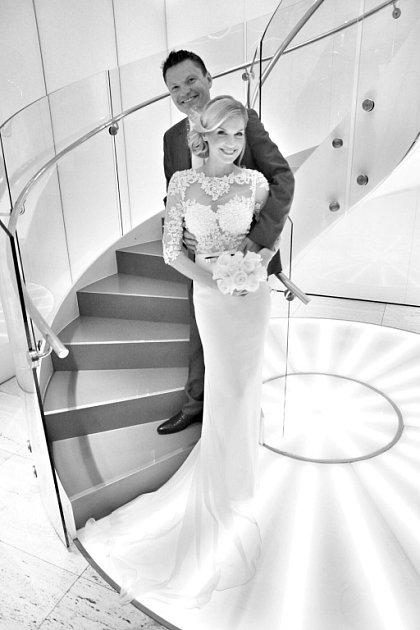 Soutěžní svatební pár číslo 29 – Dominika a Daniel Čadovi, Přerov.