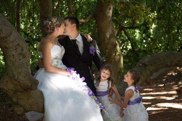 Soutěžní svatební pár číslo 42 – Alena a Martin Mikulkovi, Bílovice