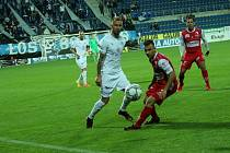 Fotbalisté Slovácka doma na podzim podlehli Pardubicím 0:1.