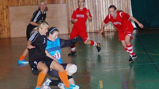 V Uherském Brodě se hrál halový turnaj žen Women's Pepsi Cup.