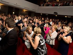 Diváci ve Slováckém divadle. Ilustrační foto.