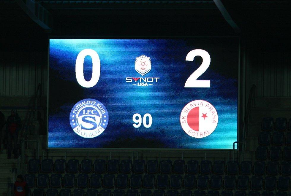 Slovácko - Slavia 0:2.