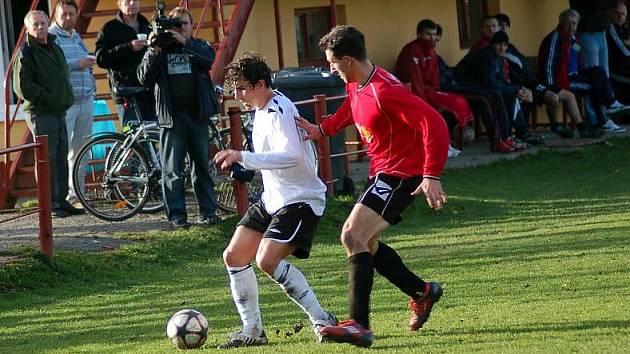 Z výhry 3:0 se radovali hosté z Pelhřimova.