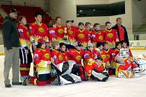 Mladí hokejisté Uh. Ostrohu obsadili na mezinárodním turnaji v rakouském Kitzbühelu druhou příčku.