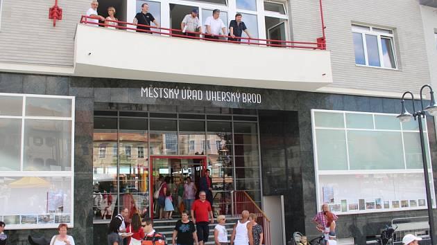 Městský úřad Uherský Brod. Ilustrační foto.