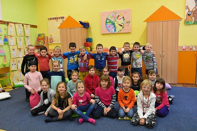 1. třída paní učitelky Jitky Jančové, Základní škola Nivnice