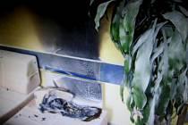 Požár v sociálním zařízení na ulici Okružní v Uh. Brodě.
