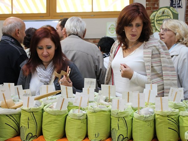 Slovácká tržnice v Uherském Hradišti. Ilustrační foto.