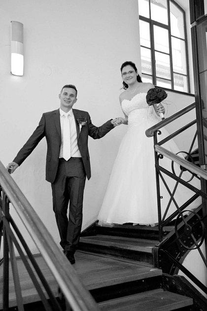 Svatební soutěžní pár číslo 18 - Miroslava  David Benkovi, Olomouc-Nedvězí