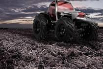 David Polášek uspěl v kategorii dopravního designu se ztvárněním futuristického, supermoderního traktoru.