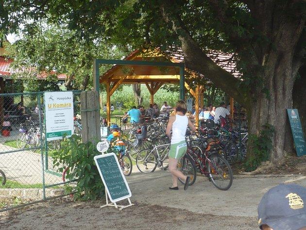 Nové cyklocentrum v Kunovicích nabízí odpočinek i zábavu.