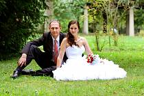 Vítězný svatební pár roku 2016 - Eva a Martin Motlovi z Křelova-Břuchotína