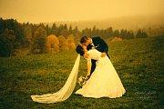 Soutěžní svatební pár číslo 65 - Veronika a Lubomír Pokludovi, Slušovice