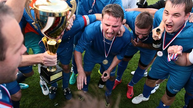 Fotbalisté Uherského Ostrohu proti Jankovicím