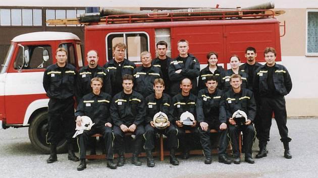 Sbor dobrovolných hasičů v Suché Lozi.
