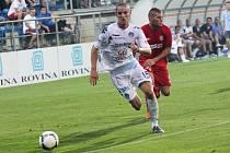 Hráč 1. FC Slovácko Marek Kuzma.