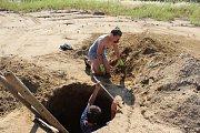 Pohřebiště, na němž bylo za pět let odkryto padesát hrobů zkonce doby kamenné a začátku vznikající doby bronzové, jejichž stáří se odhaduje na 4000 let, vydaly unikátní nálezy.