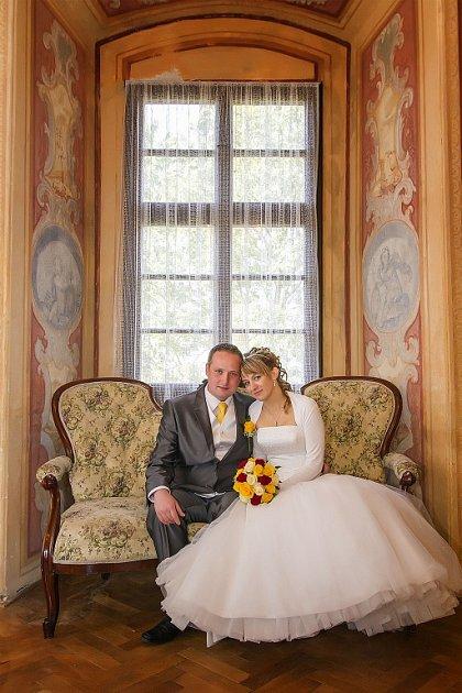 Soutěžní svatební pár číslo 120 - Jan a Petra Gregůrkovi, Lhota.