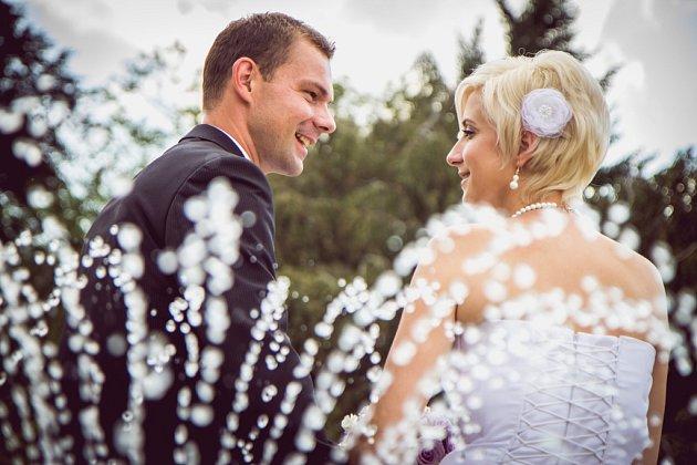 Soutěžní svatební pár číslo 239 - Věra a Martin Podlesní, Lipník nad Bečvou.
