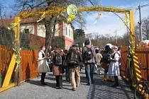 Vinohradní ulice v době Velikonoc. Ilustrační foto.