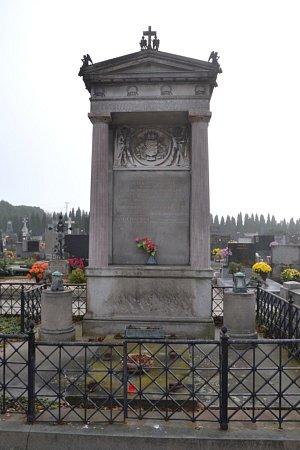 Hřbitov Uherské Hradiště-Mařatice: Politik Alois Pražák (18201901).