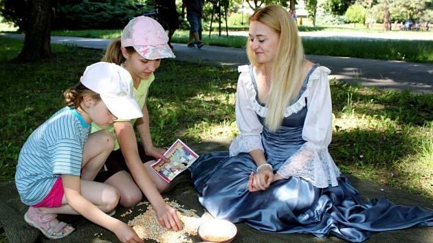 Pohádkový park ve Smetanových sadech v Uherském Hradišti