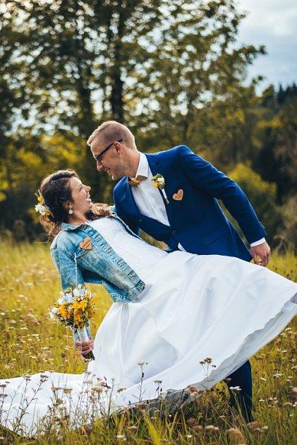 Soutěžní svatební pár číslo 60 - Kristýna a Aleš Langrovi, Nový Malín