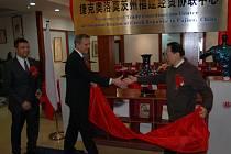 Delegace na návštěvě v Číně. Ilustrační foto.