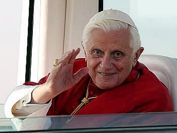 Papež Benedikt XVI. Ilustrační foto.