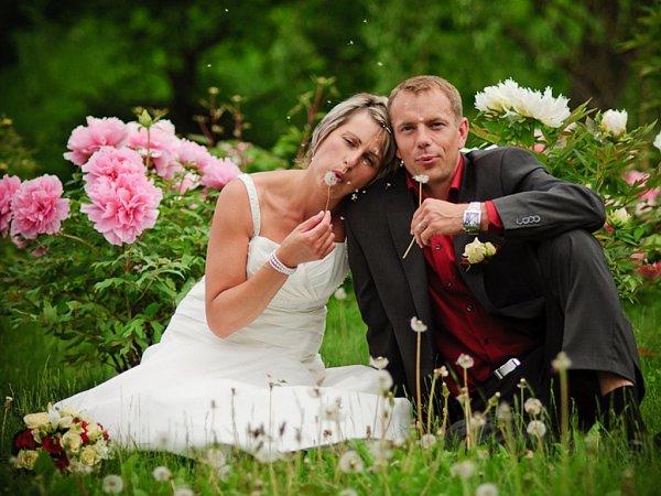Soutěžící svatební pár číslo 31 - Jitka a Jaromír Lukáškovi, Bystrovany.