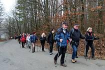 Ilustrační foto - turistický pochod.
