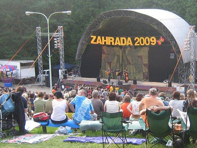 Zahrada na Olomoucku. Slovácko o tento populární festival přišlo.