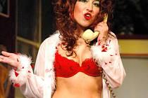 Jednu z rolí v komedii vytvořila také hvězda slováckého ansámblu Jitka Josková.