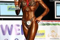 Ozdobou republikového šampionátu v kutluristice a body fitness bude v Kunovicích juniorská mistryně světa v body fitness Eva Sváčková.