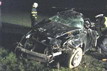 Tragická nehoda u Nedakonic si vyžádala život dvacetiletého řidiče