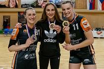 Házenkářka Veronika Andrýsková získala v dresu Mostu první mistrovský titul.
