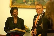Starostka Naardenu Joyce Silvester navštívila Uherský Brod.