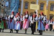 Slavnosti vína Uherské Hradiště 2017. Průvod