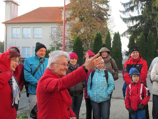 Komentovaná prohlídka Uherského Hradiště s Blankou Rašticovou. Ilustrační foto.