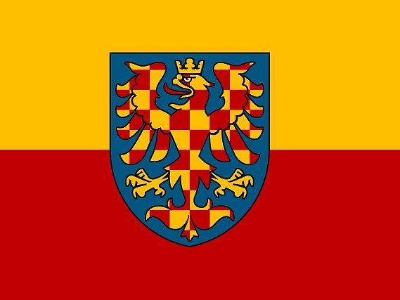 Moravská vlajka.