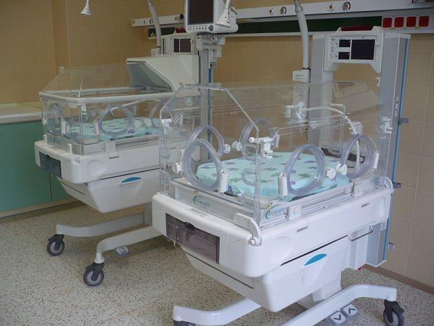 Interiér nové uherskohradišťské porodnice.