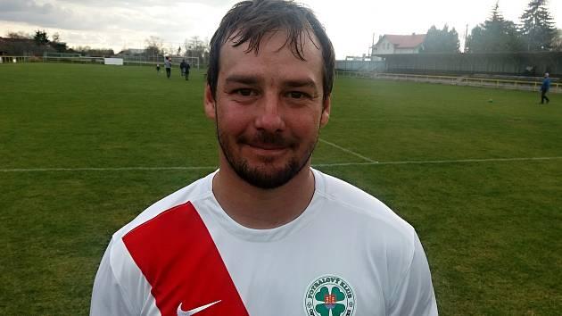 Devětadvacetiletý gólman Aleš Boček výraznou měrou přispěl třetímu týmu okresního přeboru Uherskohradišťska k výhře 2:1.