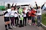 Celkem 46 běžců se o  druhém květnovém víkendu ve Sportparku Rybníček ve Starém Městě zúčastnilo benefičního běhu s názvem 2 míle pro Diakonii.