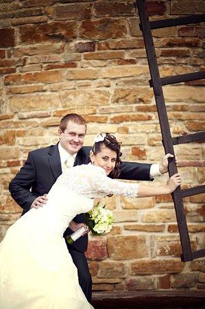 Soutěžící svatební pár číslo 27 - Kristýna a Jan Grebeníčkovi, Uherské Hradiště.